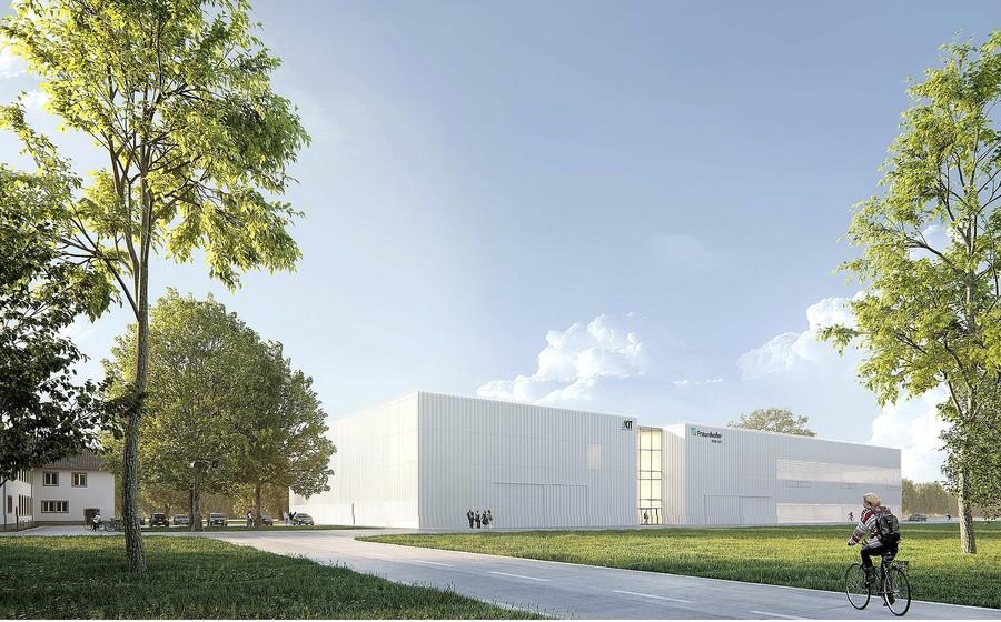 Gebäude Forschungsfabrik