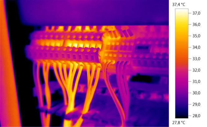 Bilder Elektrothermografie